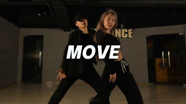 Sunnie&Zoe翻跳泰民《MOVE》,致命魅力双人舞
