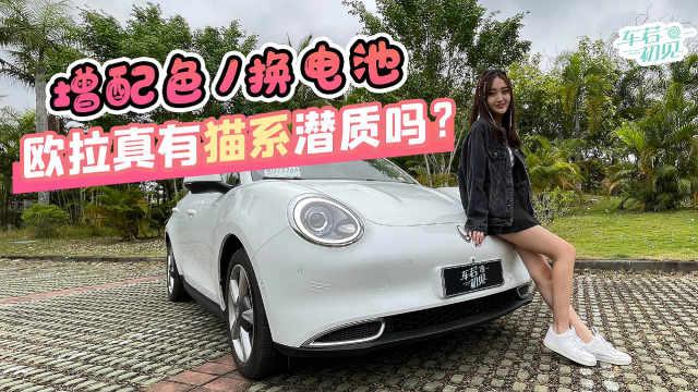车若初见:增配色/换电池,欧拉能否成为女神心头好