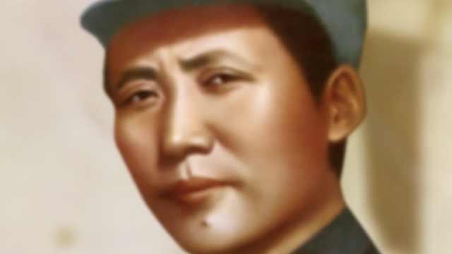 毛泽东穿着的这身军装,是中国工农红军第一套正规军装