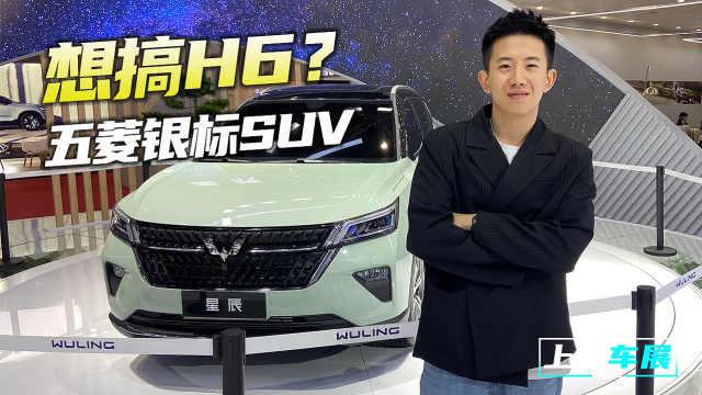 上海车展:五菱银标SUV命名星辰,看完之后你会是它的大海吗