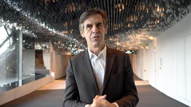 巴黎爱乐音乐厅主席祝贺第37届上海之春国际音乐节开幕