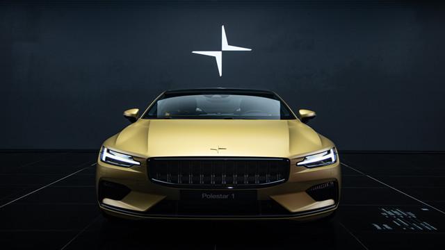 极星CEO托马斯发布极星1金色臻藏版:光环之车,全球限量25辆!