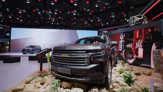 1分钟带你回顾上海国际车展,上汽通用三大品牌超强阵容