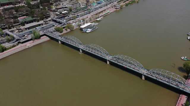 你不知道的兰州中山桥!材料从德国进口,骡马队运输达2年