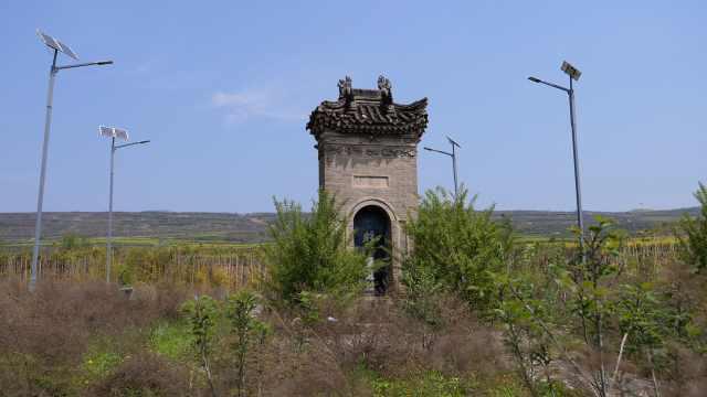 苏武故里现2000年前军寨遗址,戏班进村必唱苏武牧羊