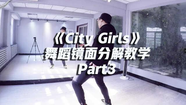 Lisa版《City Girls》舞蹈镜面分解教学Part3