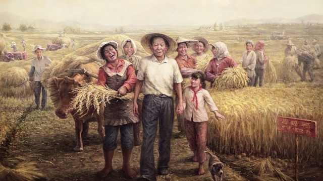油画《杂交水稻之父—袁隆平》提前发表,曾获袁老称赞