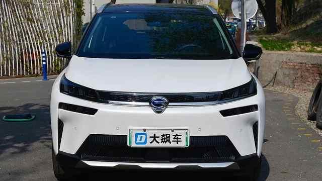 广汽埃安V静态体验,看看这辆车的品质如何?