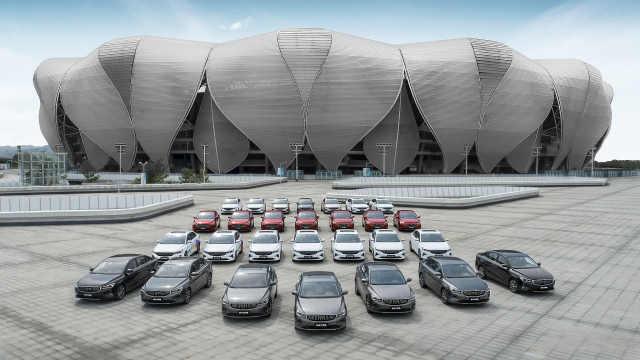 吉利第4代帝豪首发亮相,助阵2022杭州亚运会