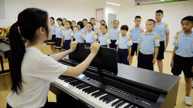 支教老师接力守护合唱团:让孩子们知道,生活不止语文数学
