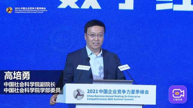 中国社会科学院副院长高培勇:数字经济才能真正地颠覆时代