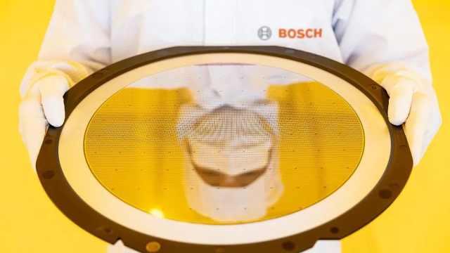 加速汽车芯片供应,博世德累斯顿晶圆厂正式落成