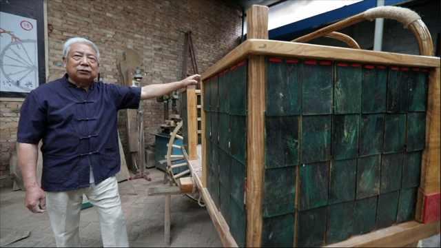 4年跑遍全国,68岁木匠复原2000年前战车,想建古代军事展馆