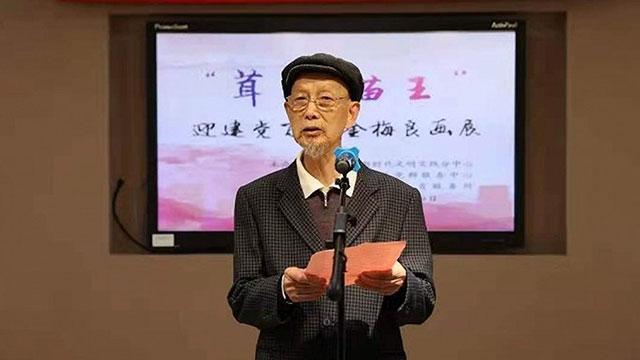 沪上八旬画家金梅良画百猫庆祝建党百年华诞