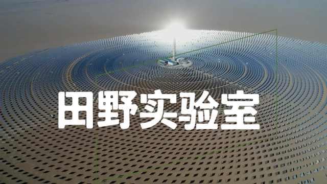 """奇妙的能源   戈壁滩""""超级镜子电站"""",12000面镜子追逐太阳"""