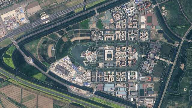 卫星帮你选大学!太空视角下的中国大学,竟然这么美