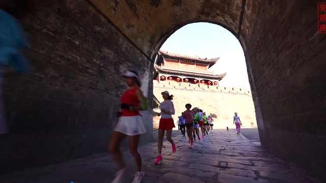 2021荆州跑者 踏着热浪览古城