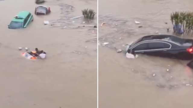 郑州隧道连救5人的英雄找到了!当过特种兵的网约车司机