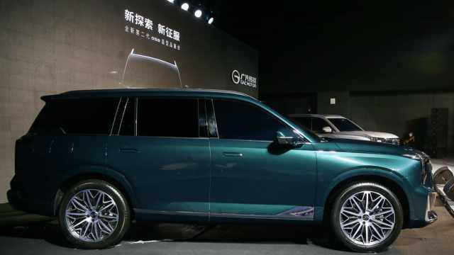 """""""星钻菱影""""设计语言打造的首款车型——全新第二代GS8"""