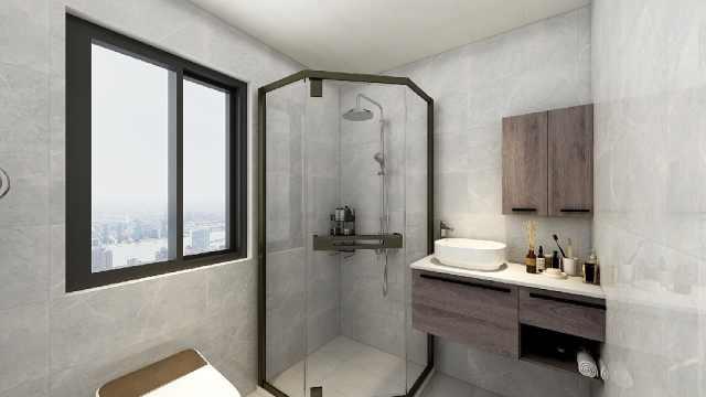 卫生间别乱布局淋浴房!尤其小户型,选错直接影响生活不方便
