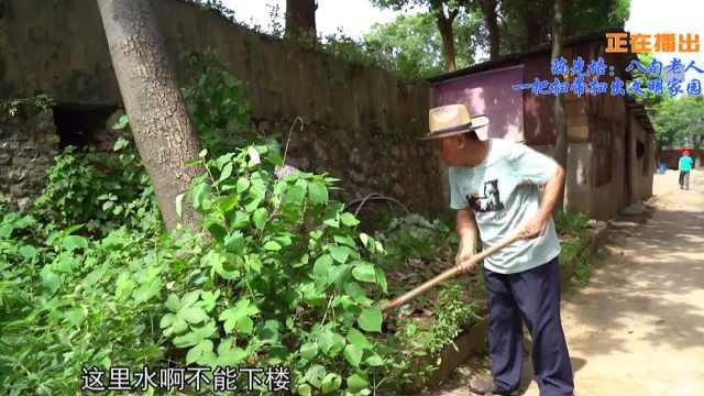 一城好人丨陈先培:八旬老人一把扫帚扫出文明家园