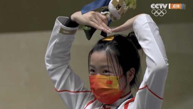 集可爱颜值实力于一身!奥运赛场上的中国00后