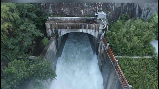 削峰率接近100%!河南卫辉防洪中这座水库发挥重要作用
