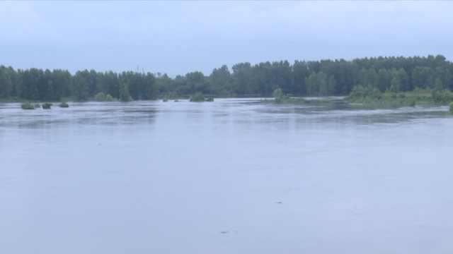强降雨致上游水库泄洪,湖北云梦700多人被紧急转移安置