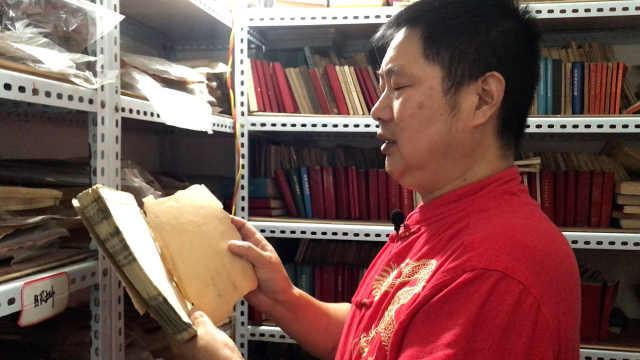 中医30年花百万收藏医书2万册,为买书曾吃1周黄瓜,想建博物馆