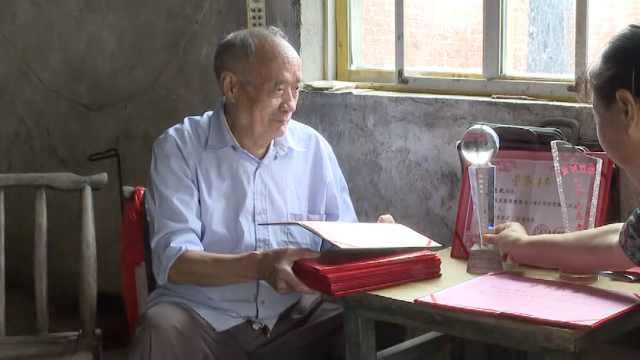 8旬老人做慈善公益50年,带动285人募捐17万,村里数百人受益