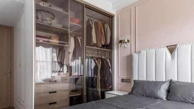 不规则卧室衣柜不好布局?教你几招,让卧室时尚且利用最大化
