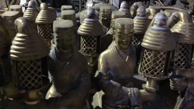 千年宫灯成冬奥会火种灯创意来源,河南村庄每年卖出万件仿品