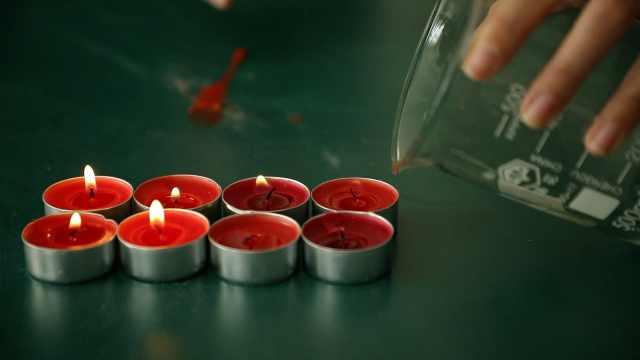 宝藏老师|化学老师上演空杯灭烛,揭秘看不见的神秘气体