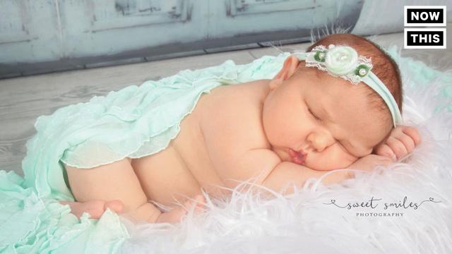 这个宝宝出生时重达12斤!