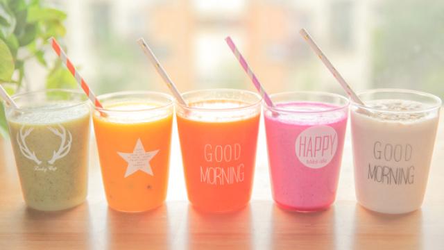 鲜榨果汁的4+1种有爱喝法