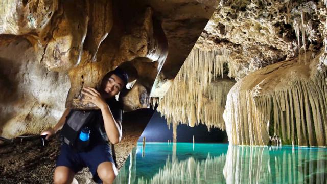 泰国溶洞探险,分分钟吓出一身冷汗