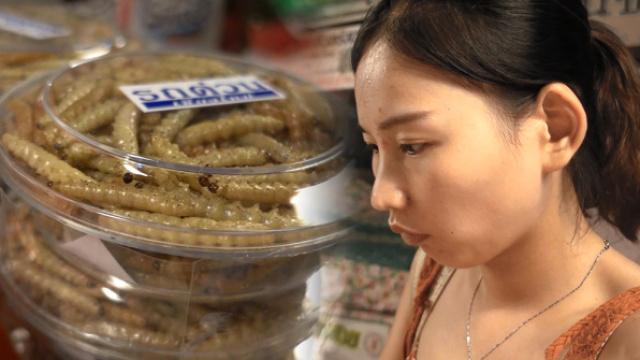 据说泰国男人最喜欢吃这种虫子