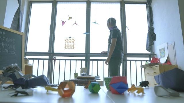 重庆小伙把折纸艺术玩得太梦幻!