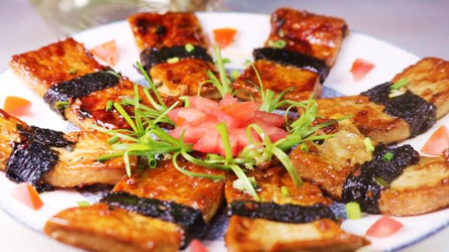 豆腐换种新吃法,招待客人倍有面子