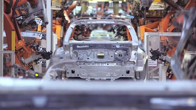 大众汽车全自动化工厂