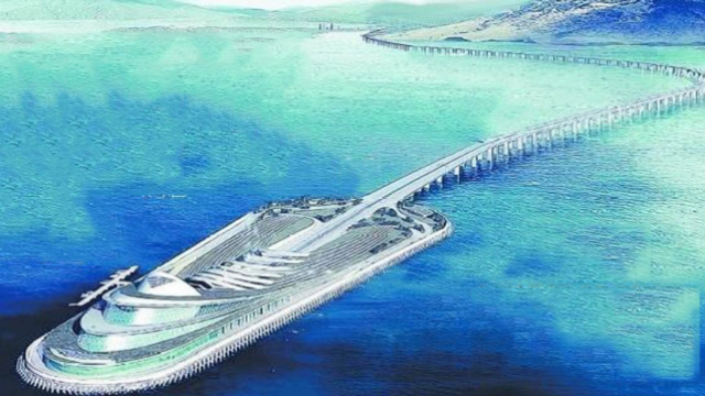 世界上最长的跨海大桥斥资460亿