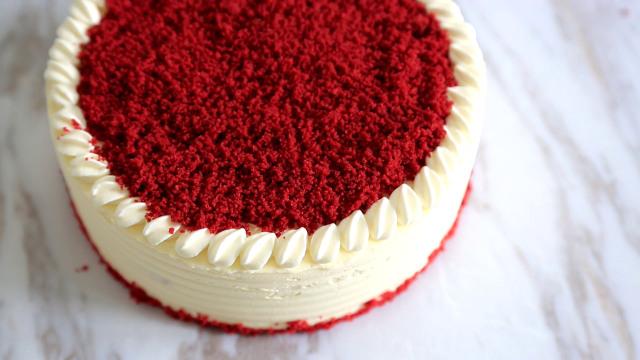 红丝绒蛋糕教程