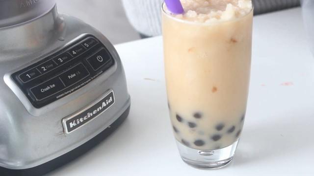 家中自制珍珠奶茶