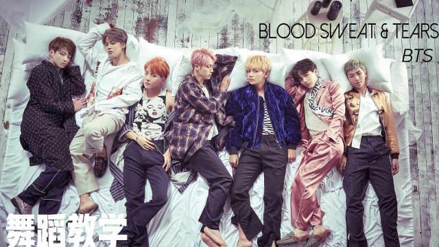 BTS《血汗泪》舞蹈教学part 5&6