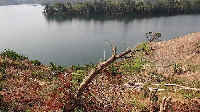 俄罗斯这片湖,辐射严重
