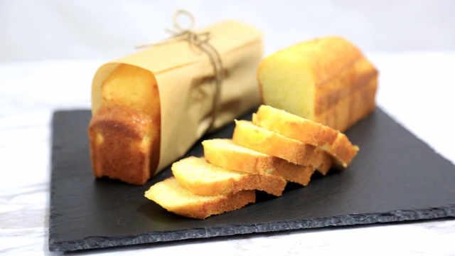 柠檬磅蛋糕,高颜值的营养小清新