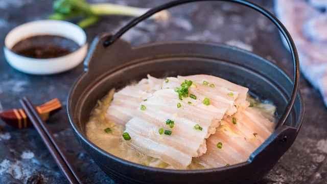 酸菜汆白肉 | 东北人逢年过节必吃