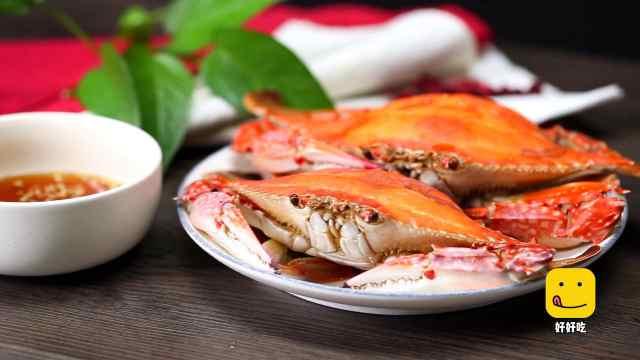 秋季必吃清蒸螃蟹,手把手教你做
