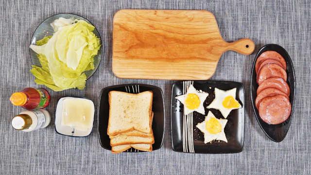 快手三明治便当,健康更减脂