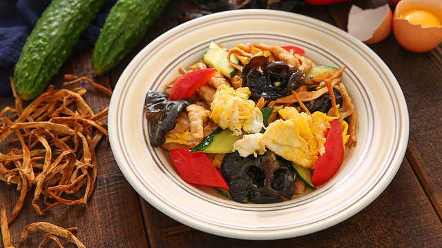 一荤一素一菇,营养均衡的北方菜